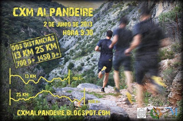 CXM Alpandeire 2013