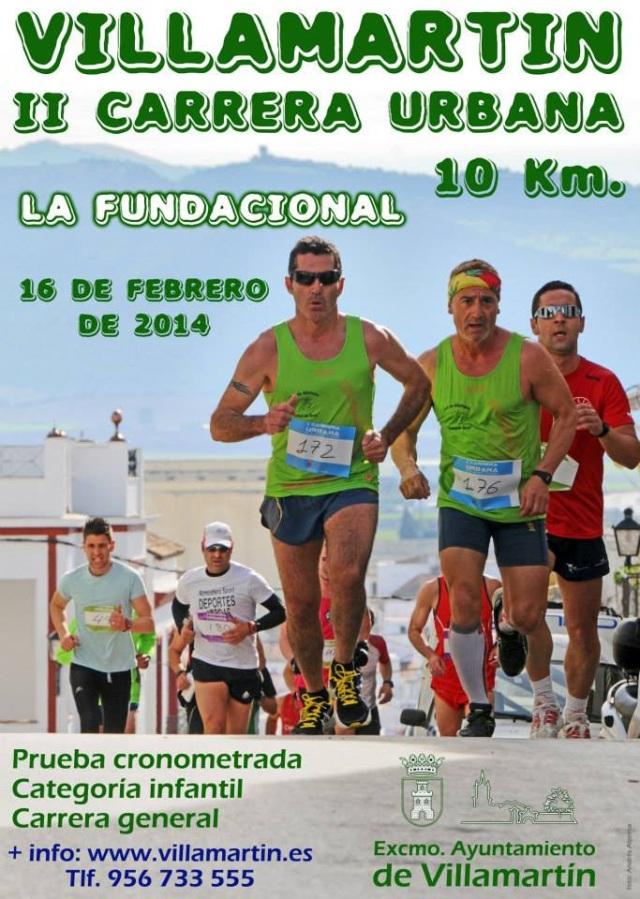 II Carrera Urbana Villamartin | RendimientoFisico10.com