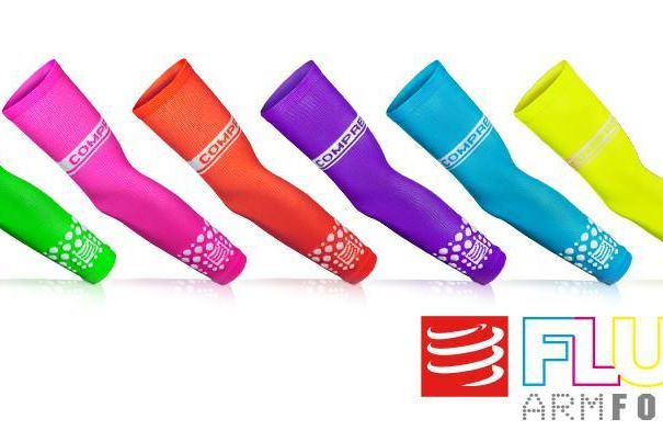 manguitos fluo compressport | rendimientofisico10.com