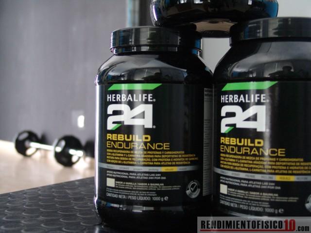 Rebuild Endurance de Herbalife 24 | rendimientofisico10.com