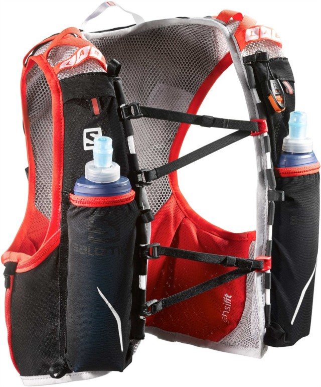 mochila trail running salomon s-lab skin hydro