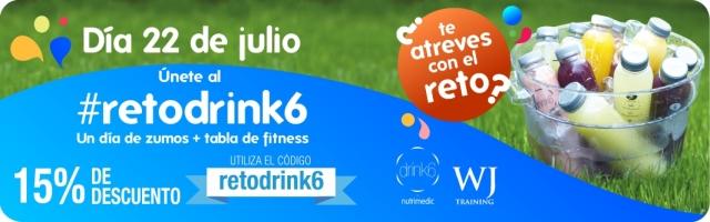retodrink6 zumos | rendimientofisico10.com