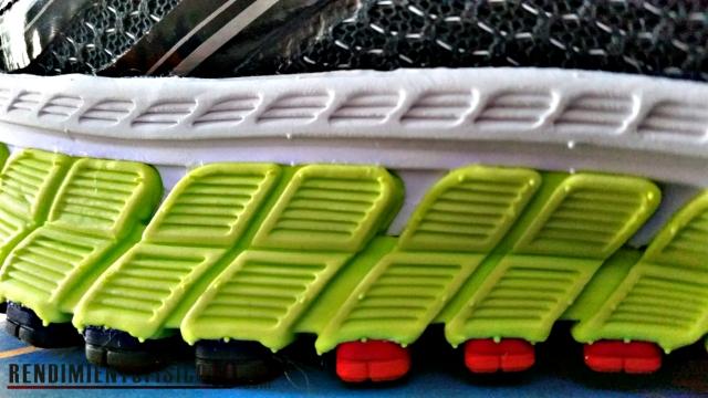 BrooksZona de pronación rígida para estabilizar la pisada Adrenaline GTS 16 primeras impresiones