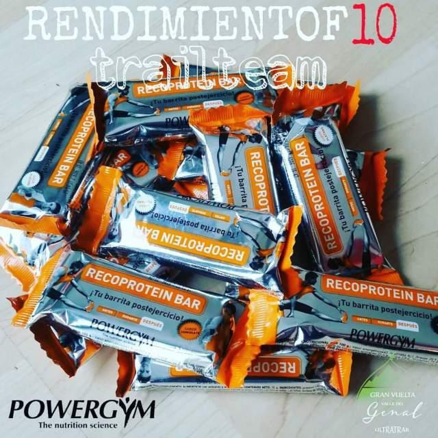Recoprotein Bar de Powergym